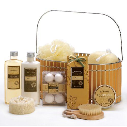 Image for VANILLA SPA BATH AND BODY BASKET