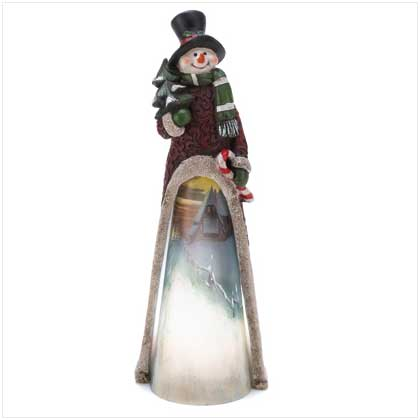 Home Locomotion Light-Up Scenic Snowman Statue at Sears.com