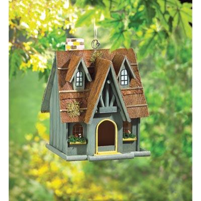Home Locomotion THATCH ROOF CHIMNEY BIRDHOUSE at Sears.com