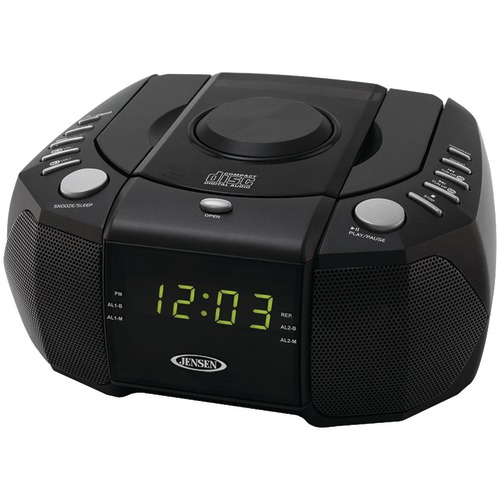 Jensen Dual Alarm Clock/ Am And Fm Stereo Radio/ Top Loading CD Player at Sears.com
