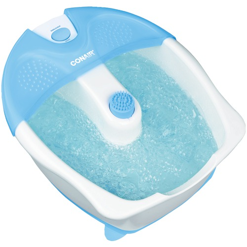 Image for Conair Foot Bath With Heat, Bubbles & Attachment